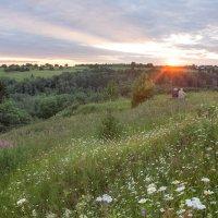 Июльский закат над Стрелицей :: Татьяна Копосова