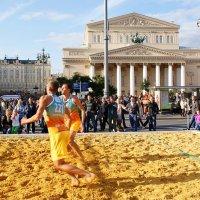 Большой пляжный волейбол... :: Николай Дони