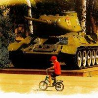 И вспомнил Юный про прадеда танкиста,,,,,,,,,,,,,,,,,,,,,, :: Дон Пионеро Карбонариевский