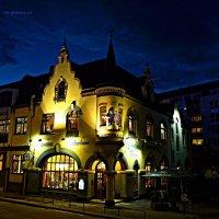 Blaue Nacht Hamburg. Fischerhaus :: Nina Yudicheva