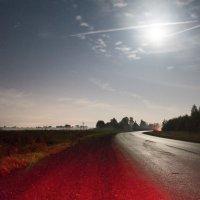 Ночь в ожидании северного сияния :: Роман Рыжиков
