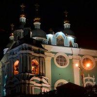 Свято-Успенский собор ночью :: Милешкин Владимир Алексеевич