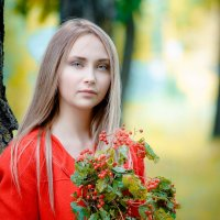 Нежной осени краски... :: Виталий Левшов