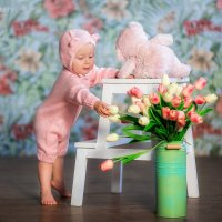Два розовых медвежонка :: Таня Тришина