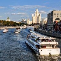 ПАРОХОДОХОД на реке Москве...:) :: Анатолий Колосов