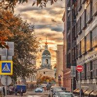 Серебрянический переулок ,Тессинский переулок :: Александр Шурпаков