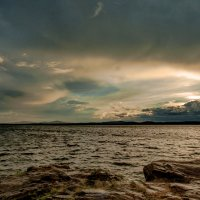 Закат на озере Иртяш :: Владимир Родионов