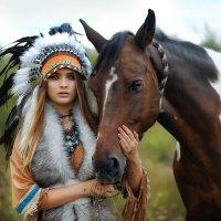 индейское лето :: Татьяна Исаева-Каштанова
