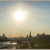 Вид на Москву с Парящего моста в парке Зарядье :: Irina-77 Владимировна