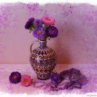 Розовые нотки в рапсодии с аметистом :: Nina Yudicheva