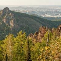 Природа и город Красноярск... :: Сергей Герасимов
