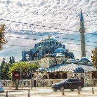 Мечеть Кылыч Али Паши в Стамбуле. Архитектор Синан :: Ирина Лепнёва