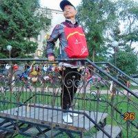 Турист из Пекина в России. :: Вера