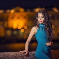 Вечером на Биржевой площади СПБ :: Игорь Юматов