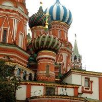 Церковь ......???   собора Покрова Пресвятой Богородицы, что на Рву в Москве. :: Александр Качалин