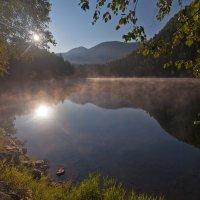 На восходе солнца :: Анатолий Иргл