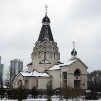 Церковь Святого Великомученика Георгия Победоносца в Купчино :: Елена Павлова (Смолова)