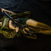 girl with svd :: Александр Баранов