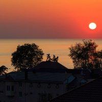 Закат над Лазаревским :: Андрей Гриничев