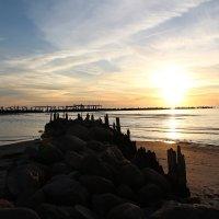 На море закат... :: Инга Энгель
