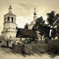 Церковь иконы Божией Матери Казанская в Макарьево :: Андрей Головкин