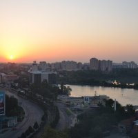 Краснодар,рассвет... :: Наталья Мельникова