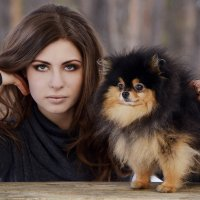 Дама с собачкой) :: Анна Плаксенко
