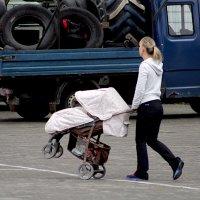 ... прокол колеса .. :: Дмитрий Иншин