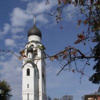 Церковь-колокольня Воскресения Христова. С 1947 года — Успения Матери Божией :: Анна Воробьева