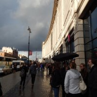 Санкт-Петербург. Двухслойное небо над Лиговским. :: Лариса (Phinikia) Двойникова
