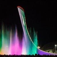 Поющие фонтаны в Олимпийском парке Сочи :: Андрей Гриничев