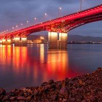 Вечерний мост... :: Сергей Герасимов