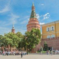 Вид на Угловую Арсенальную башню Московского Кремля. :: Анатолий Щербак