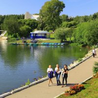 В парке :: Галина Новинская