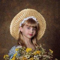Детский портрет в стиле прованс :: Елена Кельина