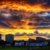 Питер закат :: Юрий Плеханов
