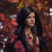 Подруга - Осень :: Алиса Колмагорова