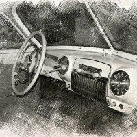 "За рулем М-12 ""ЗИМ"" :: Андрей Головкин"
