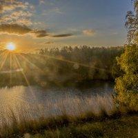 Закат на Исети :: Михаил Полыгалов