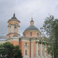 Зарядье. Церковь святой великомученицы Варвары :: Дмитрий Никитин