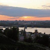 Нижний Новгород. Вечер. :: Наталья Лунева