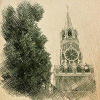 Спасская башня :: Андрей Головкин