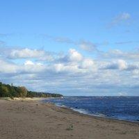 Комарово. Вид с пляжа :: genar-58 '