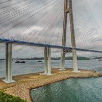 Мост на остров Русский, Владивосток :: Эдуард Куклин