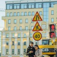 На улицах Москвы в сентябре :: Игорь Герман