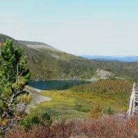 озеро в горах :: Евгения Шикалова