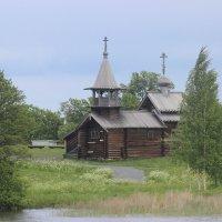 Кижи. Музей деревянного зодчества :: Дмитрий Солоненко