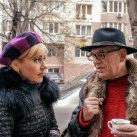 Разговор на улице. :: Вахтанг Хантадзе