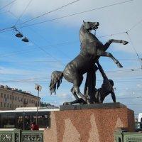 Санкт-Петербург. Кони Клодта. :: Лариса (Phinikia) Двойникова