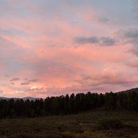 Закат в горах Алтая. :: Ирина Токарева